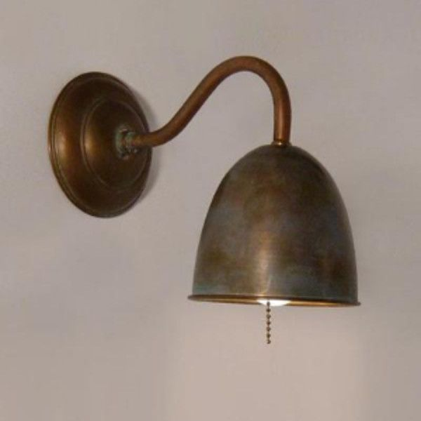 Pygona Copper Wall Lamp 110 Liked On Polyvore Featuring Home Lighting Wall Lights Copper Lamp Copper Wal Copper Wall Light Wall Lights Copper Lighting