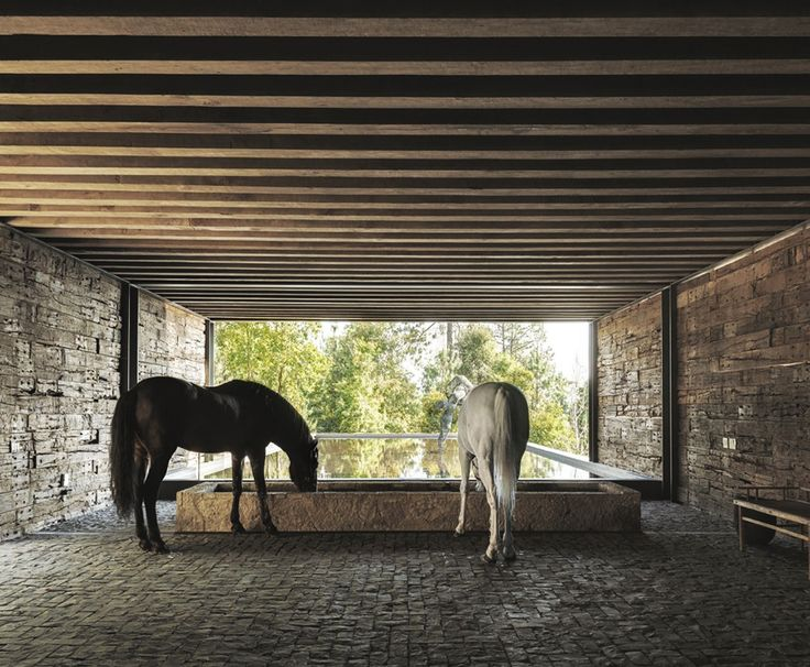 Not sure if this is a barn, but I like the imagery. El Mirador House by CC Arquitectos