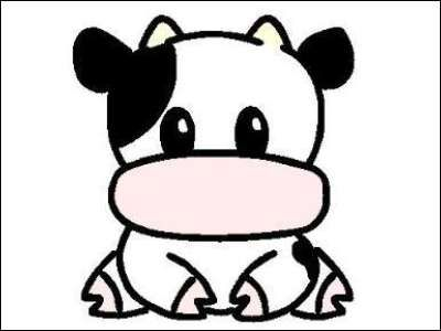 10 best Animated Cows images on Pinterest | Animated cow ... |Cute Animated Cows In Love