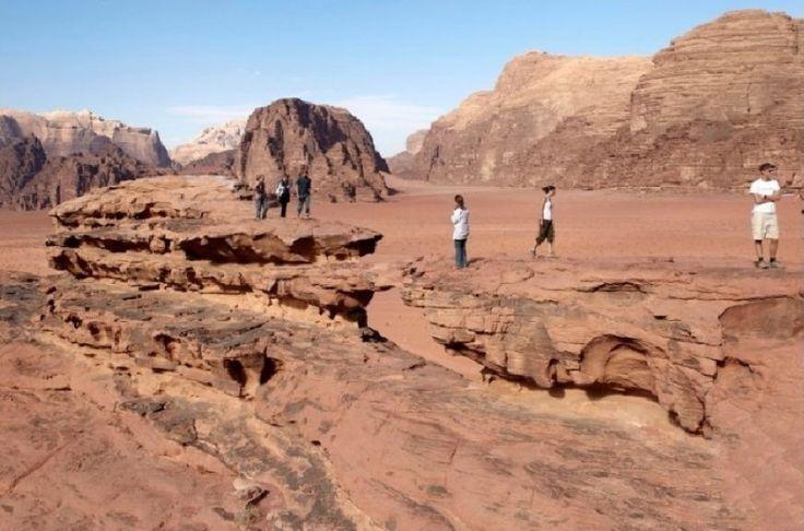 Jordan tourism - land of milk and honey. A road trip through Jordan visiting Amman, Petra, Wadi Rum and Madaba.