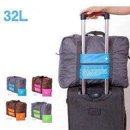 1898d7003f993 Cestovné taška na batožinu Veľká rozkladacia skladacia taška Holdall  Dáždniková taška Skladací kufor Kolesová cestovná taška @ VOVA