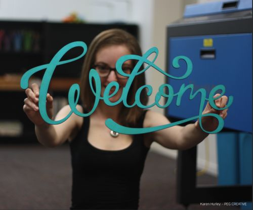 hand lettering laser cut - Google Search