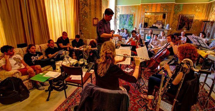 2013 Composer Academy. Credit: Aaron Holloway-Nahum