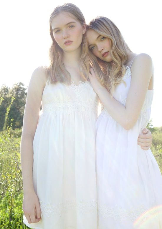 Ruth and May Bell star in Topshop's 'Summer of Love' campaign