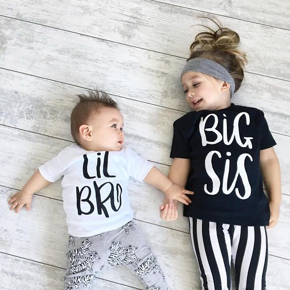 Brother/&Sister Clothes Toddler Summer Baby Girl Boy TopS+Short Pants Outfit UK