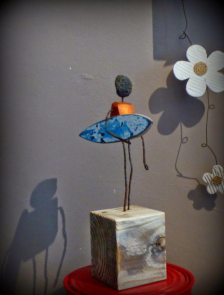 driftwood surf art bois flott bois flott pinterest. Black Bedroom Furniture Sets. Home Design Ideas