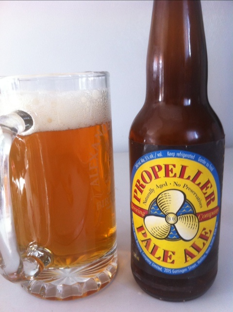 Propeller Pale Ale 341ml, 5%abv, 5.5