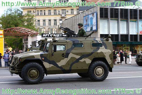 Tiger Tigre GAZ-2330 wheeled armoured vehicle armored personnel carrier description pictures | Blindés et véhicules à roues Russie armoured | Russie Equipements et blindés de l'armée russe
