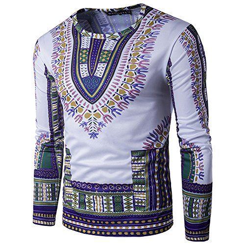 Mens Long Sleeve Cotton Traditional African Dashiki Shirt... https://www.amazon.com/dp/B06X9VVV15/ref=cm_sw_r_pi_dp_x_m1Glzb7E2AMNN