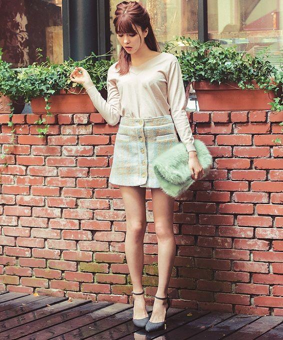 肌見せしつつ、いい子にまとめる! 八木アリサの私服コーデを大公開!|NET ViVi|講談社『ViVi』オフィシャルサイト