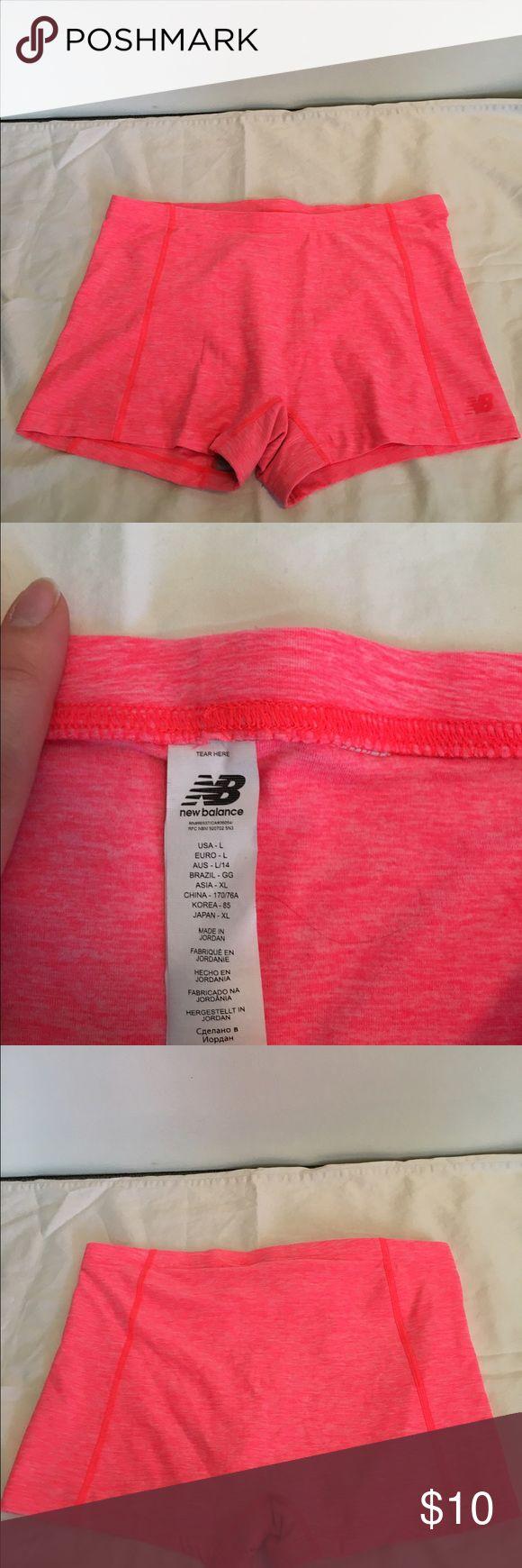 Selling this Women's Pink New Balance Spandex Shorts on Poshmark! My username is: jgarbinski. #shopmycloset #poshmark #fashion #shopping #style #forsale #New Balance #Pants