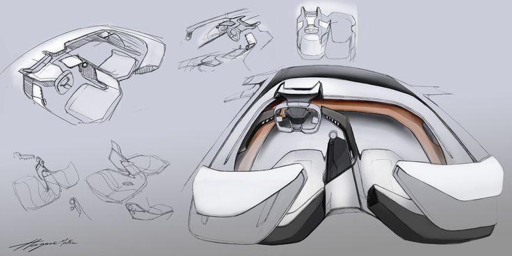 288 best images about car interior on pinterest audi - Car interior design ...