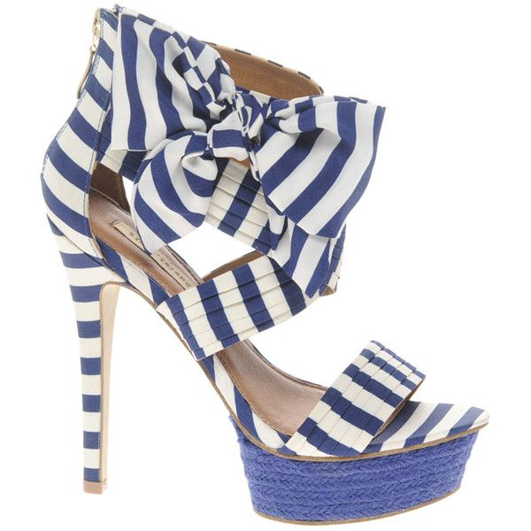 River Island Exact Stripe Platform Heels should be perfect for Sailor Theme Party.