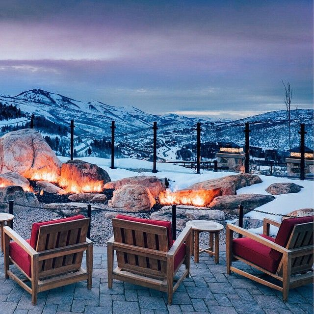Montage Deer Valley, Park City, UT. Photo courtesy of thesmartflyer on Instagram.