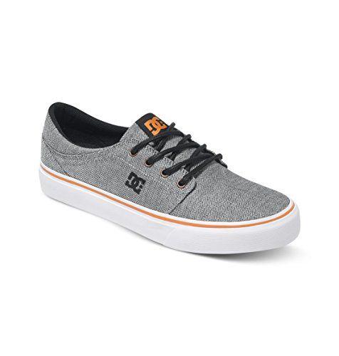 DC Shoes, TRASE TX SE M SHOE – Zapatillas para hombre, Gris (grey/orange/grey), 41