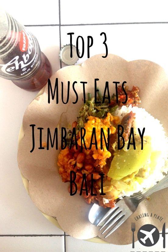 Our Top 3 Must Eats when you're in Jimbaran Bay, Bali, Indonesia.