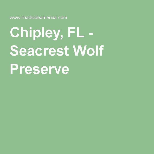 Chipley, FL - Seacrest Wolf Preserve