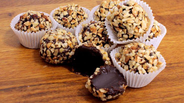 Nutella Pralinen Rezept als Back-Video zum selber machen! Ganz einfach Schritt für Schritt erklärt!