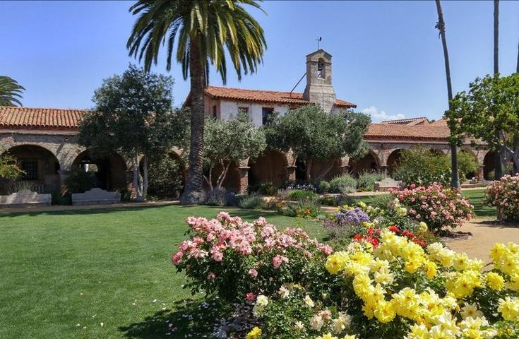 Mission San Juan Capistrano is a popular day trip by train or car. Historic California Mission, beautiful gardens, Los Rios Historic District