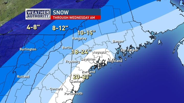 central and southern maine weather wgme cbs 13 news sports