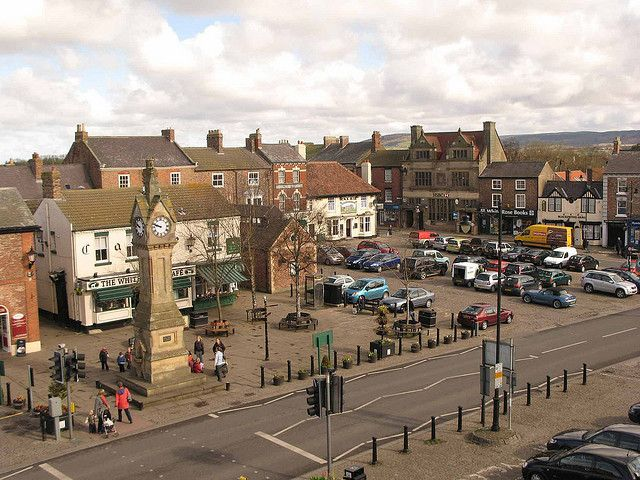 """Thirsk, North Yorkshire, UK (James Herriot's """"Darrowby"""")  It looks just like this--would love to return"""