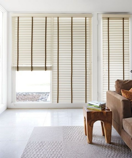 Blinds Sliding Doors Treat The Windows Pinterest