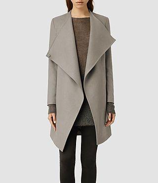 Women's Ora Coat (Black) -
