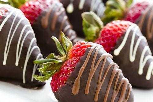 Fresas con Chocolate Te enseñamos a cocinar recetas fáciles cómo la receta de Fresas con Chocolate y muchas otras recetas de cocina..
