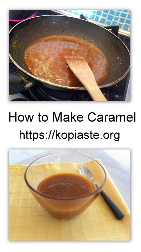 Caramel is when sugar is cooked and becomes a liquid. It becomes golden brown and has an intense, deep flavour from the caramelization of the sugar. #caramel #caramel_sauce #kopiaste