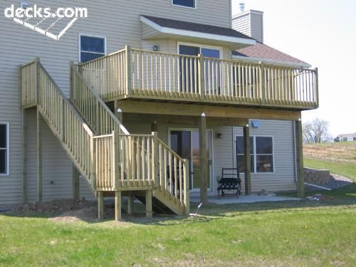 17 Best Images About Deck Designs On Pinterest 2nd Floor