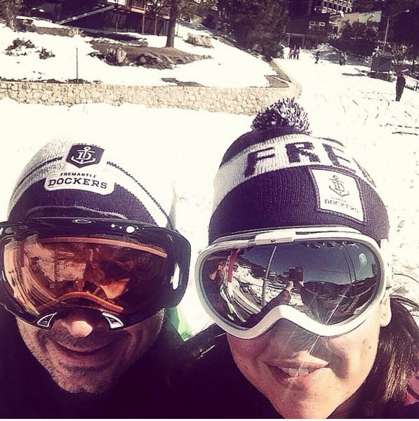 Sun... Was shinning bright up at #FallsCreek last year when we hit the slopes. #WPNLiveIt #wpnactivewear #GoFreo @pickle_dj #photoaday