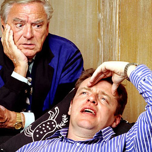 I Think I've Got a Problem, episodes 1 & 2   Starring Suggs, Bob Monkhouse & Bill Nighy. Written by Andrew McGibbon and Nick Romero. BBC Radio 4, 2001-2003.