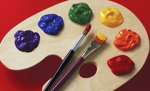 Groupon - Pizza & Picasso Workshop for 1 or 2 Kids or BYOB Painting Party for 6 Adults at Museo Art Academy (57% Off)  in Gilman. Groupon deal price: $149