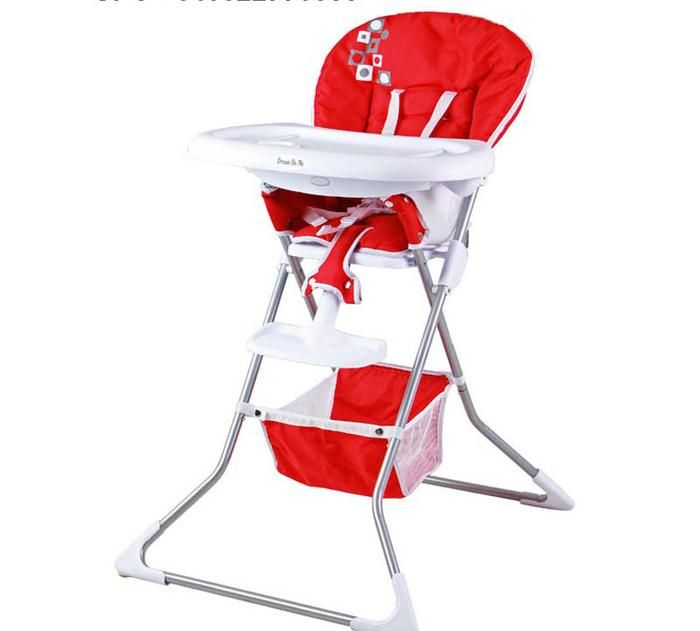 Dream On Me recalls high chairs. The leg or side opening of the chair can allow a child's body to pass through.