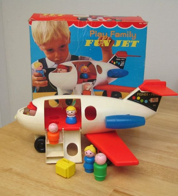 Vintage Fisher Price airplane!