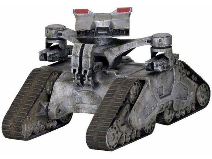 Terminator 2 Cinemachines Die-Cast Collectible - Hunter Killer (Tank) - Terminator 2: Judgment Day Vehicles & Accessories