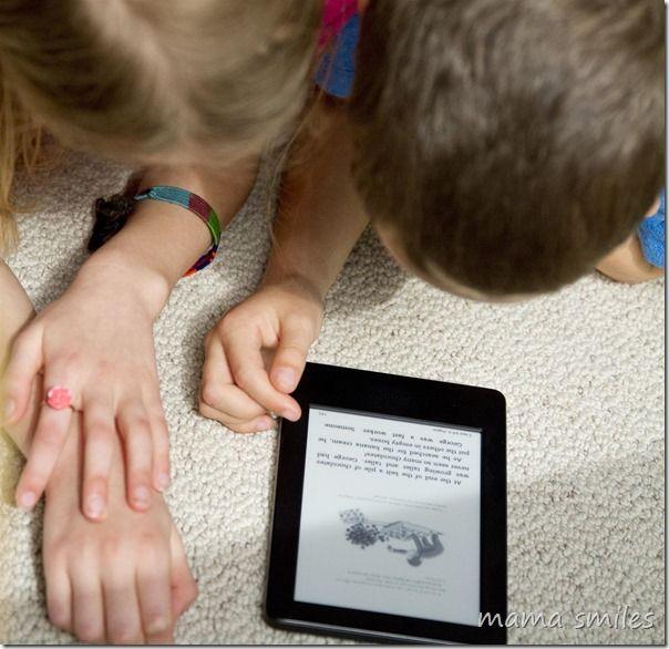Encouraging Literacy with the Amazon Kindle