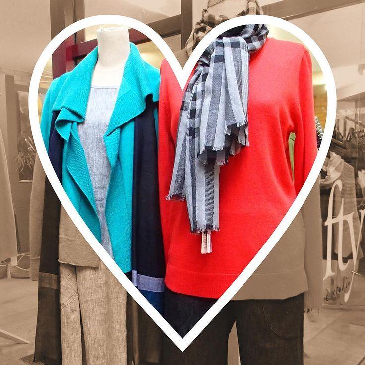 Feeling grey today? You'll ❤️❤️❤️ the colours at 5ifty  #uimiknitwear #thescarfcompany #zeegaflinders #starashan #justaddcolour #shopbendigo #lyttletonterrace #shoplocal