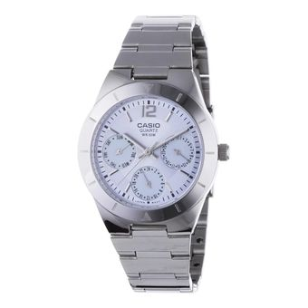 Buy Casio LTP-2069D-2AVDF Ladies Watch Silver & Blue online at Lazada Malaysia. Discount prices and promotional sale on all Business. Free Shipping.