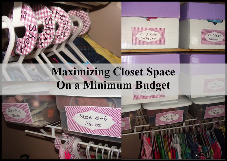 Cornerstone Confessions: Maximizing Closet Space On A Minimum Budget