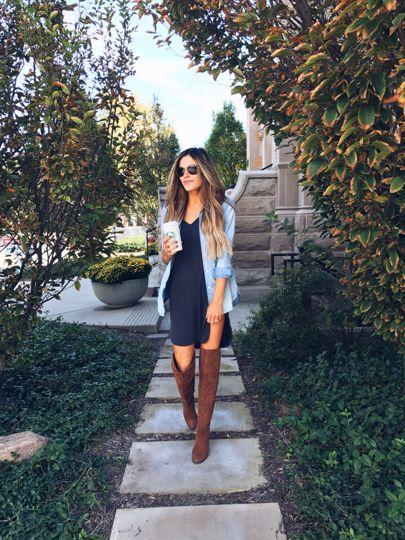 Coffee past noon kinda Monday 🙄☕️️ http://liketk.it/2plOL    Shirt dress from @dottiecouturebtq     #ootd #ltkshoecrush #ltkunder100 @liketoknow.it #liketkit