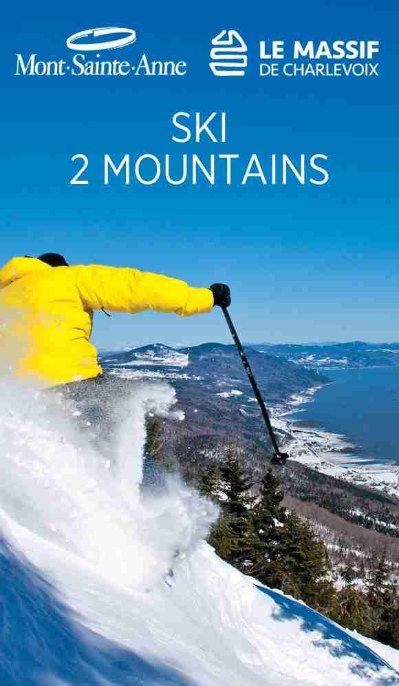 Château Mont-Sainte-Anne ★★★★ Condo-Hotel, Ski, Golf & Spa – 1-866-900-5211