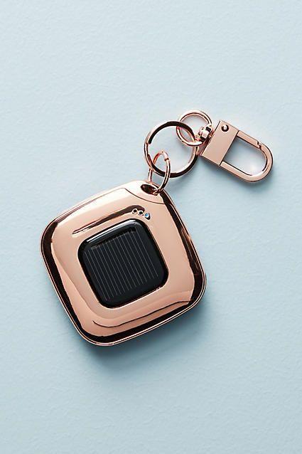 Rose gold solar charger! Anthropologie Solar Portable Charger #anthropologie #anthrofave #anthrohome #rosegold #solar #solarpower #ad