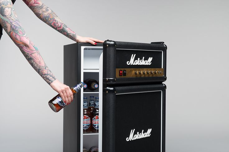 Marshall Fridge: New Website - Marshall Fridge High Priced But Can Win It Or Buy For $100-150 in Music Stores