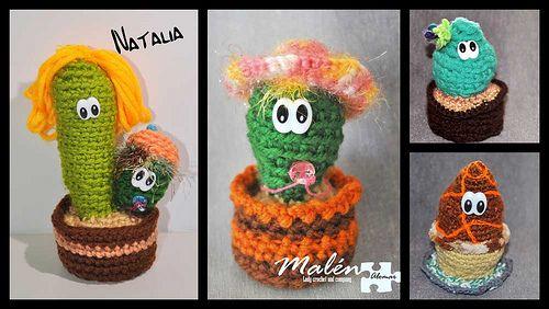 Cactus que se fueron con Natalia .Muchas gracias guapa! un beso y cuidame los muy bien!!