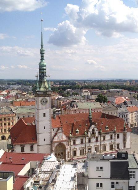 Olomouc city hall (North Moravia), Czechia