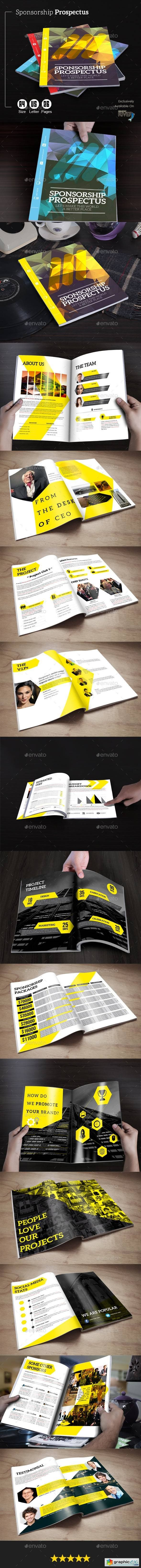 Buy Sponsorship Prospectus by Brandacy on GraphicRiver