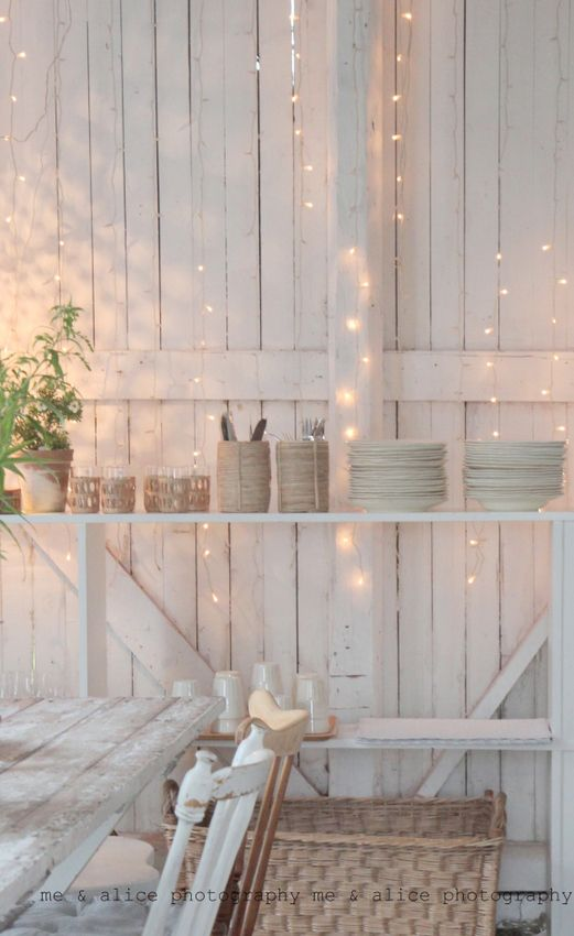 Warm white #fairylights against a white background, one of our favourite looks.