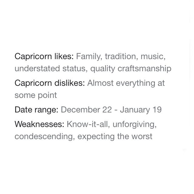 Capricorn Qualities | @capricorn | Follow up for more!