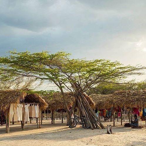 Rancheria Wayuu.   Fotografía; @nativowayuu